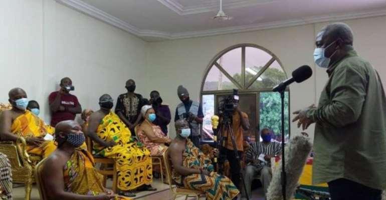 Don't React To Provocation By NPP---John Mahama Tells NDC Supporters