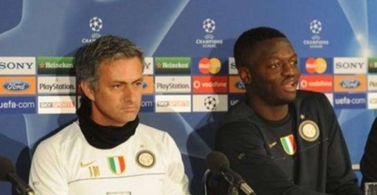 Muntari Backs Mourinho After Style Criticism