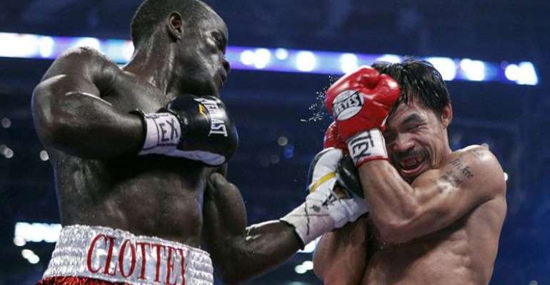 Joshua Clottey wants Manny Pacquiao rematch 11 years after heavy defeat