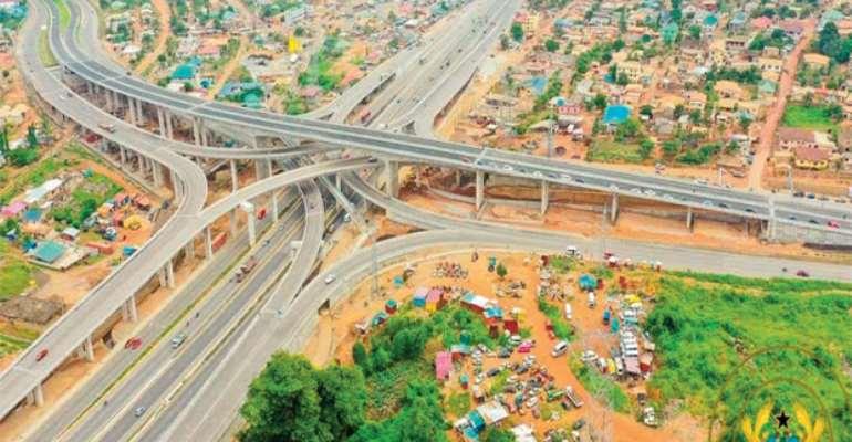 Behold a gargantuan interchange