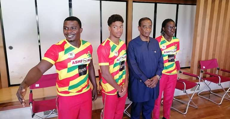 Swimming Coach commends Ghana Olympic Committee