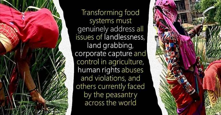 Are we hungry for change for genuinely transforming food systems?