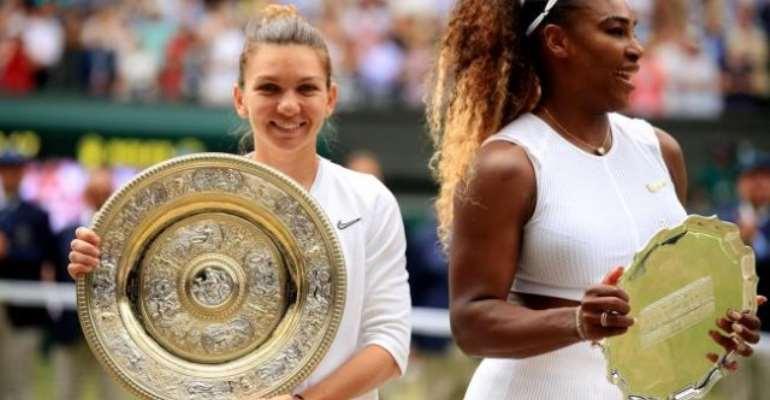 Simona Halep Beats Serena Williams To Win Wimbledon Title