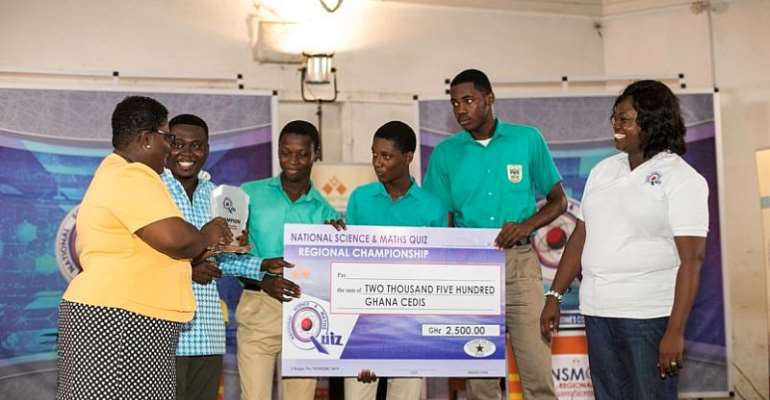 Start Ghana Beyond Aid By Nurturing The Young Scientists From NSMQ For The Future