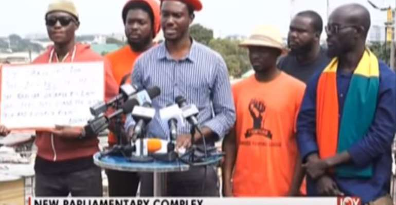 Ernesto Yeboah leads the leftist group, the Economic Fighters League