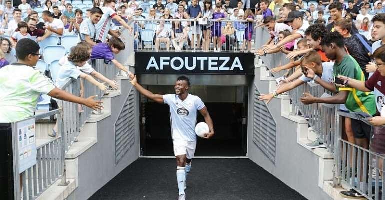 VIDEO: Watch The Catching Moment Celta Vigo Presented Joseph Aidoo To Fans