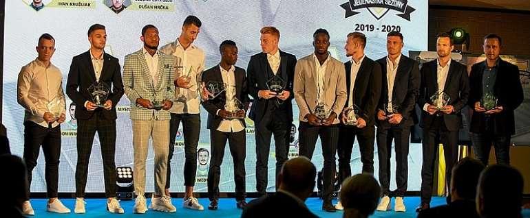 Classy Osman Bukari Named In Slovak Fortuna Liga 'Team Of The Year'