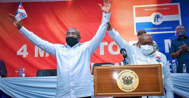 The Hand Of God Is Against Akufo-Addo's Second Bid
