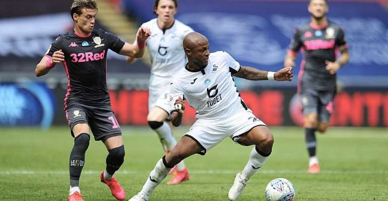'Keep Believing' - Andre Ayew Charges Swansea City Teammates After Leeds United Defeat