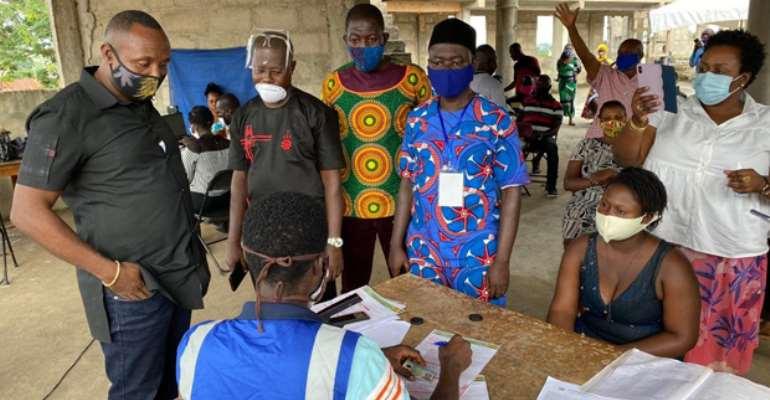 Ashanti Region: NPP General Secretary John Boadu Tours Registration Centres