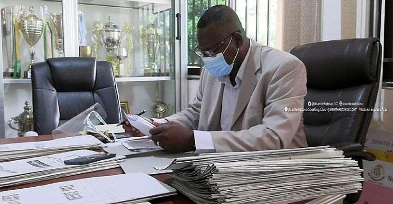 Asante Kotoko Acting CEO Mr. Joseph Yaw Adu