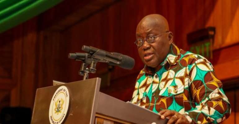 President Akufo-Addo Finally Reveals What He Does In Self-Quarantine