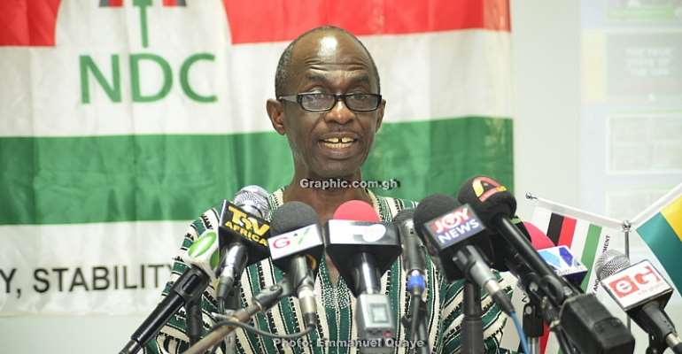 NDC calls for Public Inquiry into $5m bribery allegation against Chief Justice Anin-Yeboah