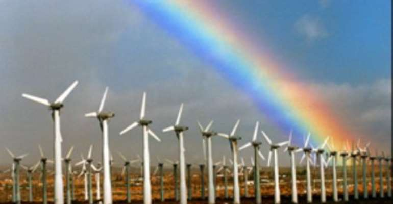 Ghana has 2,000-megawatt wind power