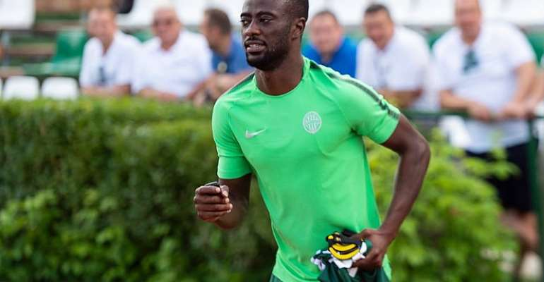Abraham Frimpong Excels As TC Ferencvarosi Draw With Maccabi Tel Aviv In Europa League Qualifier