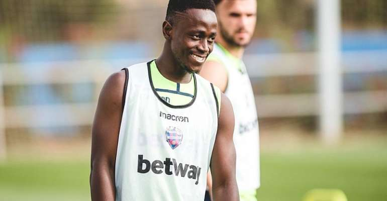 Emmanuel Boateng Joins Levante Preseason Training