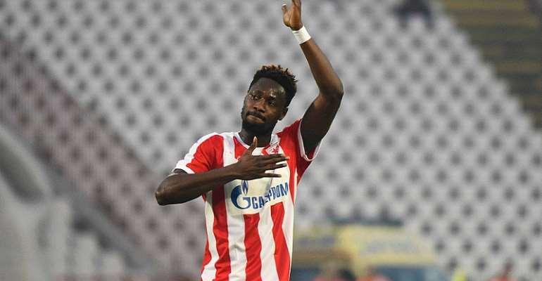 Richmond Boakye-Yiadom Rejoins Red Star Belgrade On Loan - Report