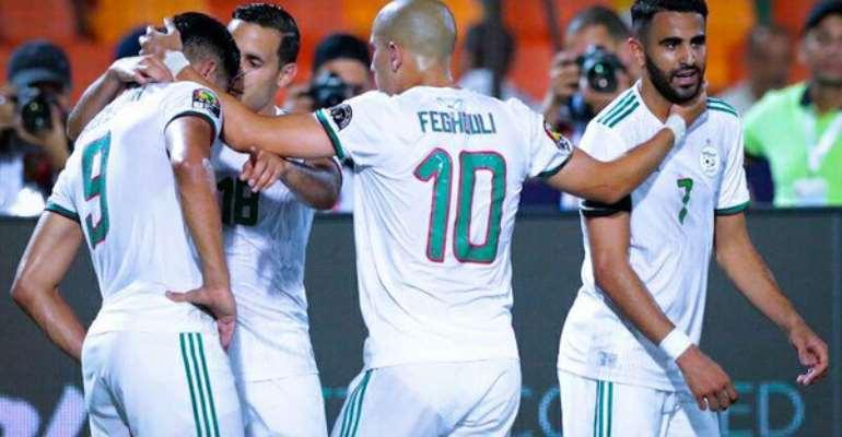 AFCON 2019: Late Mahrez Stunner Sends Algeria Through To AFCON Final