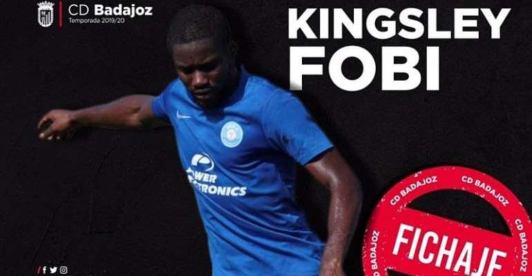 OFFICIAL: Watford Loan Kingsley Fobi To Spanish Side Cd Badajoz