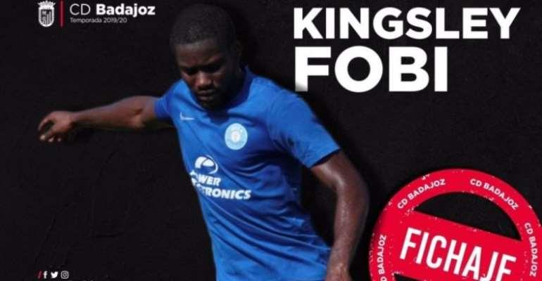 Kingsley Fobi Joins Spanish Side CD Badajoz On Loan From Watford