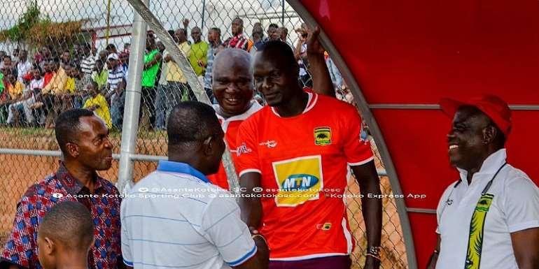 Asante Kotoko New Signing George Abege Arrives At Training Grounds [PHOTOS]