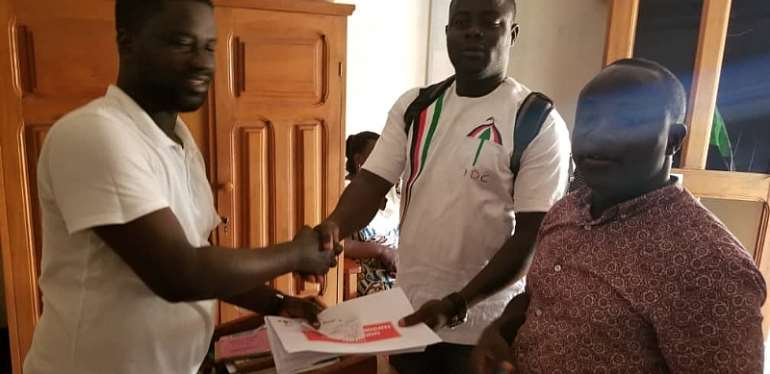 NDC Primaries: Three Pick Forms To Contest Jomoro Seat