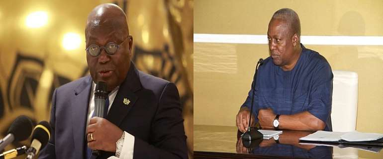 Ghana Presidential Election 2020 Special: Who Wil Win Between Akufo-Addo Vs. Mahama?