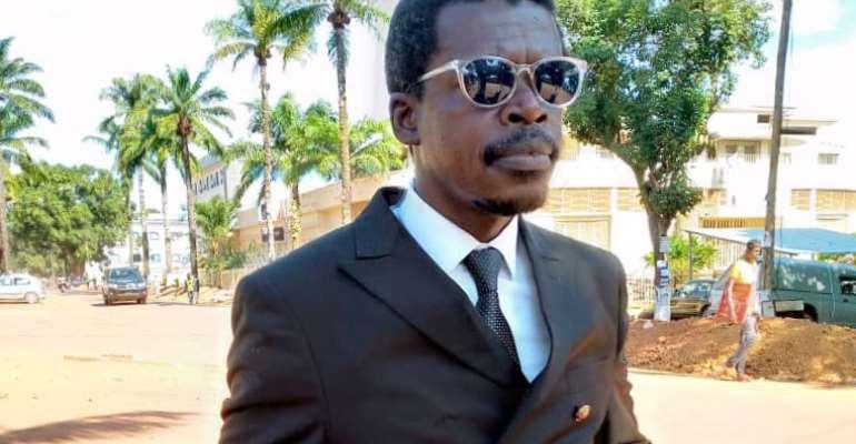 Central African Republic authorities recently detained journalist Landry Ulrich Nguéma Ngokpélé in defamation case. (Photo: Landry Ulrich Nguéma Ngokpélé)