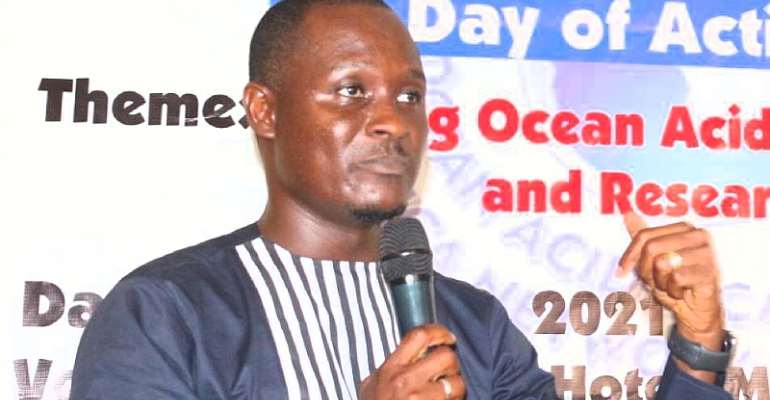 Sherif Gets Research Grant to Assess Ocean Acidification, Climate Change Impact on Fishery In Liberia