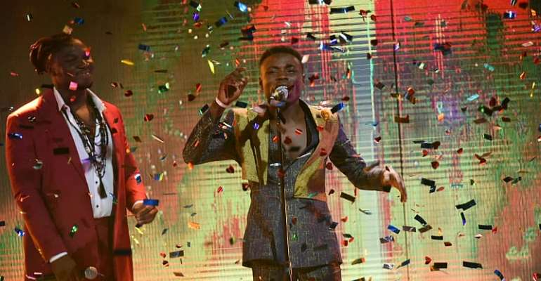 Kingdom Kroseide won the 6th edition of the Nigerian Idol.