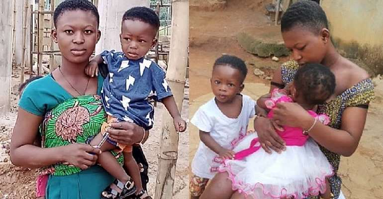 The sad story of 17-year-old SHS student who attends school with her twin children [Video]