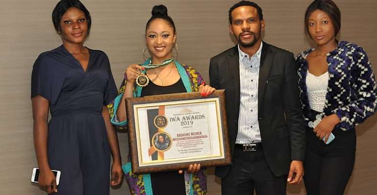 Actress Rosaline Meurer Bags Indigenous Female Personality Of TheYear Award in Abuja