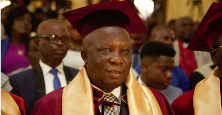 Sasso Boss, Dr. Sampson Effah Apraku Appointed Professor