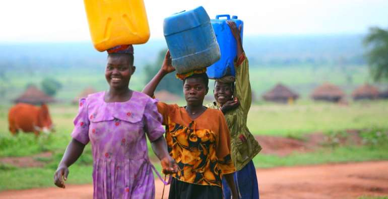 Access to clean drinking water in many places throughout Africa is still a challenge