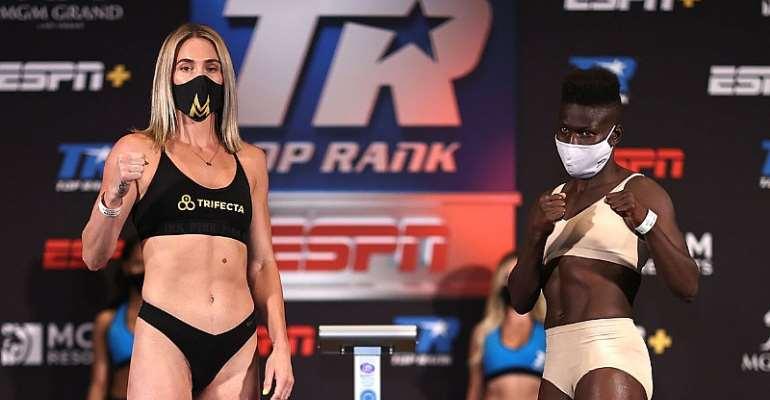 Helen Joseph Confident Heading Into Mikaela Mayer Fight