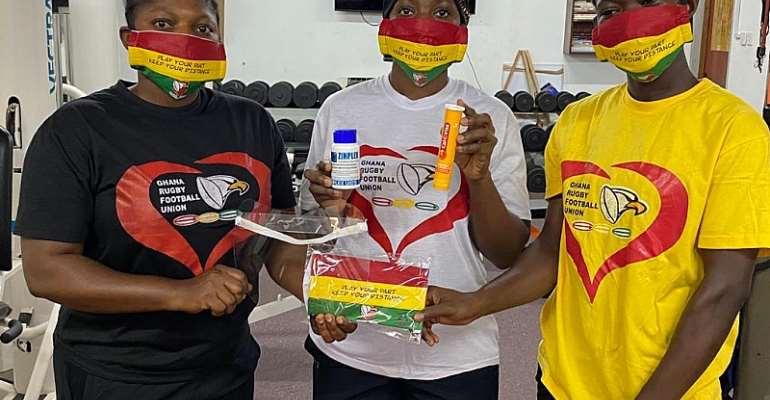 Ghana Rugby Ladies Undertake COVID-19 Relief Activities