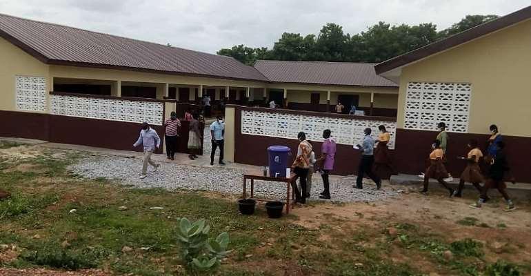 Sunyani East MP Inaugurates Three School Projects