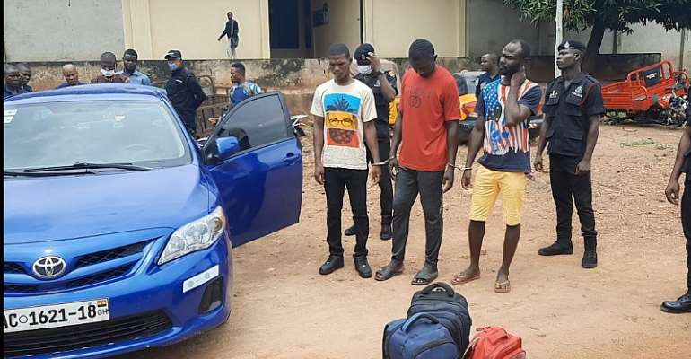 Three remanded for illegal possession of firearms