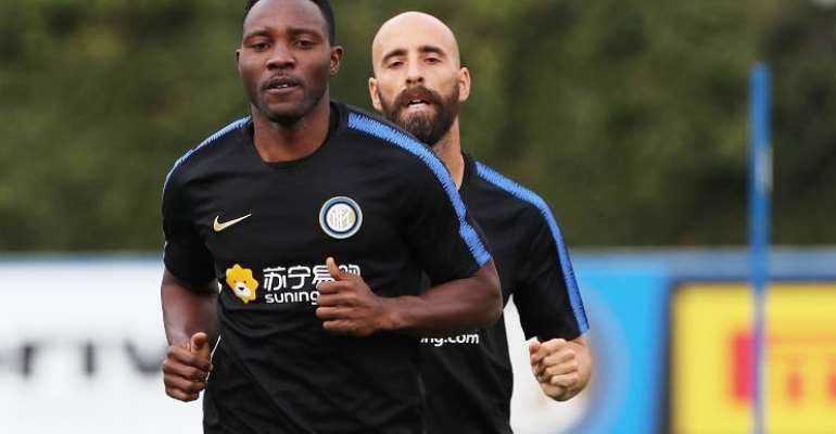 Kwadwo Asamoah Will Retire At Inter Milan - Agent