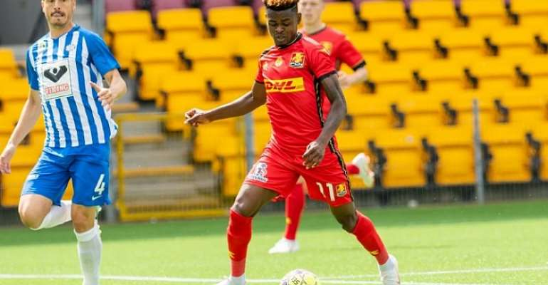 Godsway Donyoh Opens Scoring Account For FC Nordsjaelland In Draw With Esbjerb