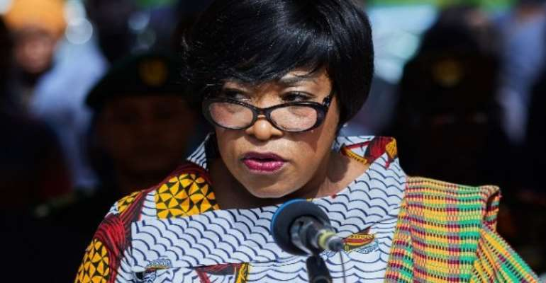Shirley Ayorkor Botchwey is the Foreign Affairs Minister
