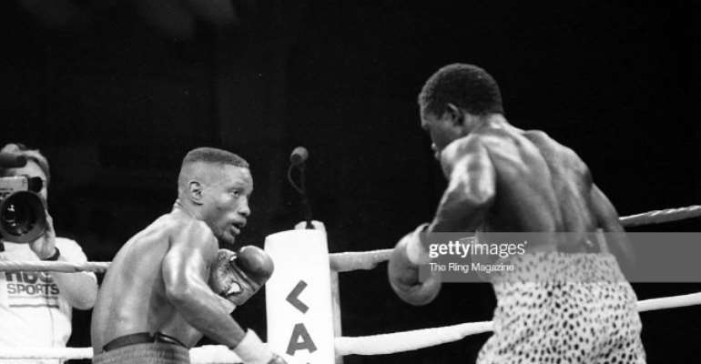 Azumah Mourns Boxing Great Pernel Whitaker