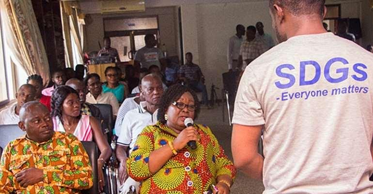 Deputy Minister of Ashanti Region Ms. Elizabeth Agyemang