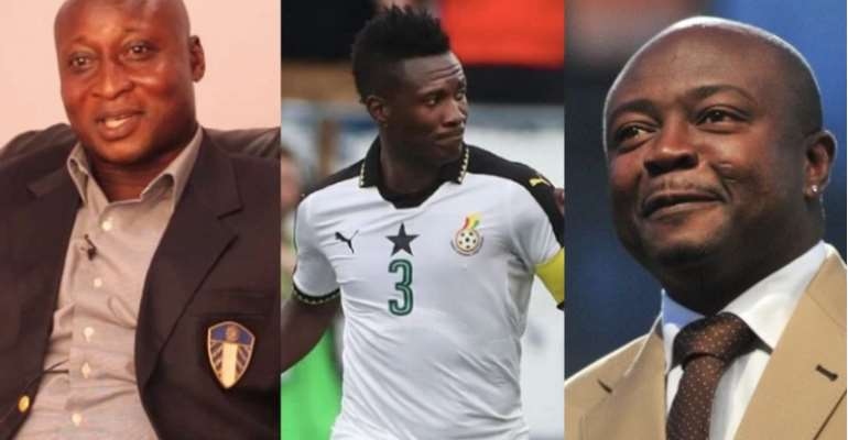 Gyan And Three Of Ghana's Greatest Players Of All Time