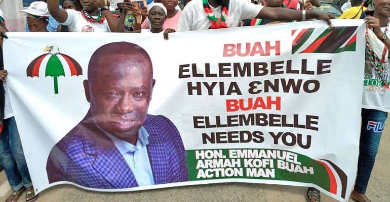 NDC Primaries: You Will Contest Whether You Like It Or Not — Ellembelle NDC Branch Executives To Kofi Buah