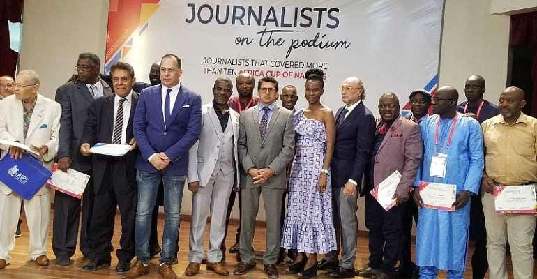 AIPS Honours Veteran Journalists In Egypt