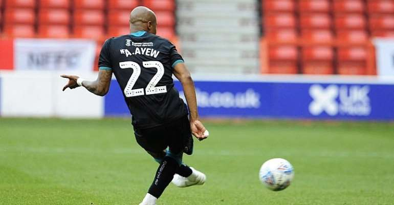 Andre Ayew Left Frustrated After Swansea City's Draw Against Nottingham Forest