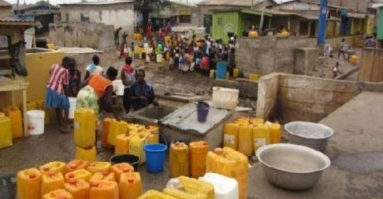 Water Scarcity Hit Bibiani-Jona Township