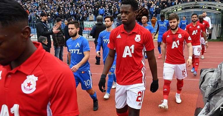 Edwin Gyasi Sends Heartfelt Message To CSKA Sofia Fans Ahead Of His Move To Besiktas