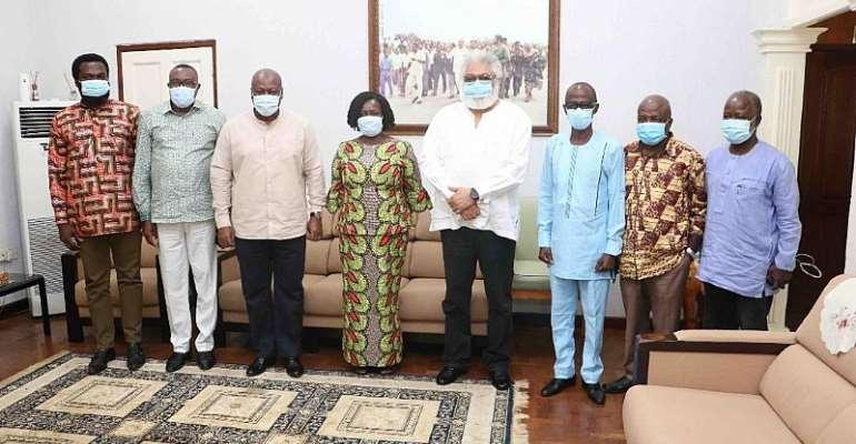 Rawlings Congratulates Prof Naana Opoku Agyemang